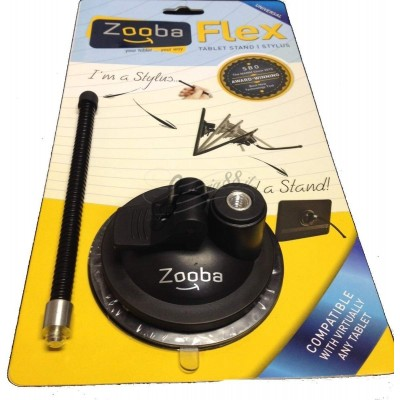 Zooba flex tablet stand and stylus